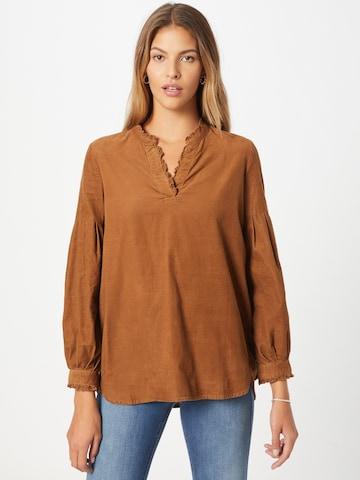 Camicia da donna di Thought in marrone