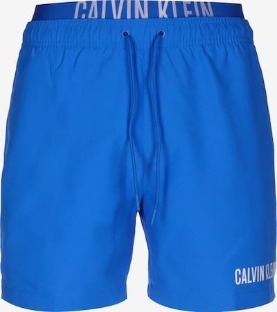 Calvin Klein Underwear Badeshorts in blau / weiß, Produktansicht