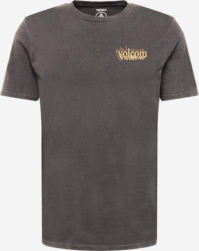 Volcom Shirt 'BURGOO' in Light yellow / Light orange / mottled black / White, Item view