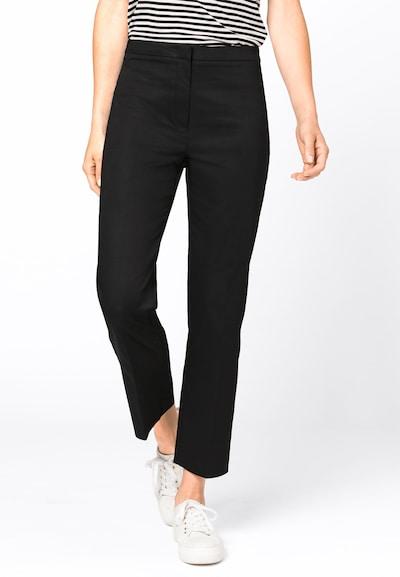 HALLHUBER Hose in schwarz, Modelansicht