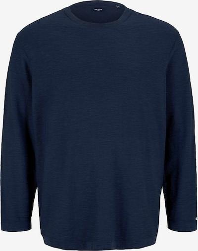 TOM TAILOR Men + Pullover in dunkelblau, Produktansicht