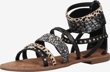 LAZAMANI Sandalen in Beige