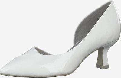 MARCO TOZZI Čevlji s peto | bela barva, Prikaz izdelka