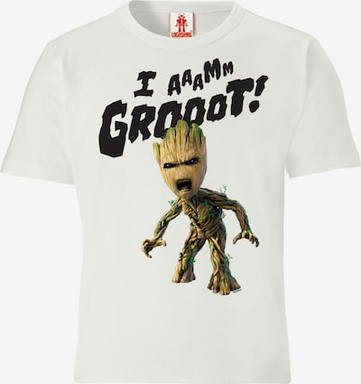 LOGOSHIRT T-Shirt in mischfarben / weiß, Produktansicht