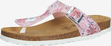 COSMOS COMFORT T-Bar Sandals in Pink