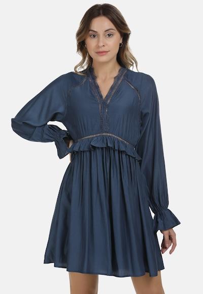 DreiMaster Maritim Kleid in dunkelblau, Modelansicht