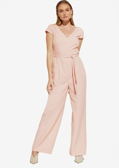 COMMA Jumpsuit in de kleur Crème, Modelweergave