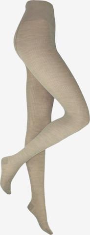 ROGO Wollstrumpfhose in Braun