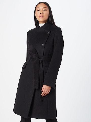 HUGO Átmeneti kabátok 'Milea' - fekete