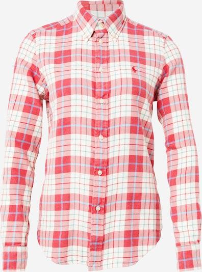 POLO RALPH LAUREN Bluza 'Georgia' u svijetloplava / crvena / bijela, Pregled proizvoda