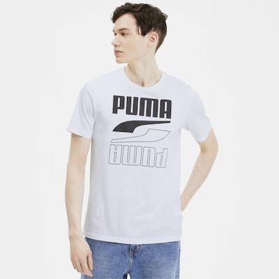 PUMA Functioneel shirt in de kleur Wit: Vooraanzicht