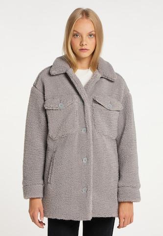 taddy Winter Coat in Grey