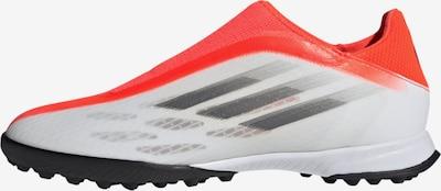 ADIDAS PERFORMANCE Fußballschuh 'X Speedflow.3 Laceless TF' in grau / rot / weiß, Produktansicht