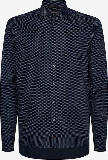 TOMMY HILFIGER Koszula biznesowa w kolorze ciemny niebieski / czarnym, Podgląd produktu