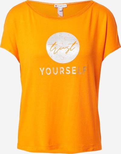 STREET ONE T-Shirt in orange / silber, Produktansicht
