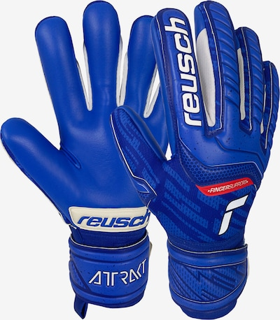 REUSCH Athletic Gloves in Blue / Red / White, Item view
