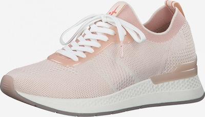 TAMARIS Sneaker in beige / rosa, Produktansicht