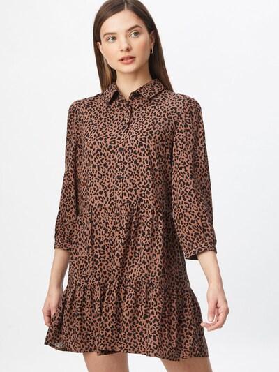 Dorothy Perkins Kleid in hellbraun / schwarz, Modelansicht