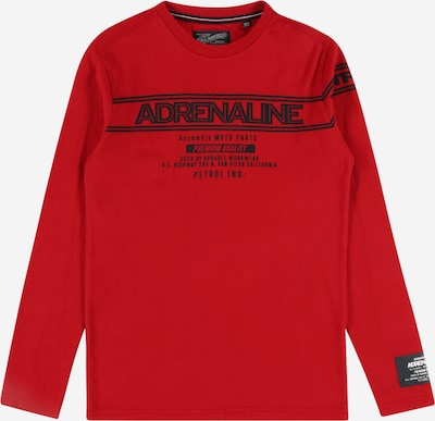 Tricou Petrol Industries pe roșu / negru / alb, Vizualizare produs