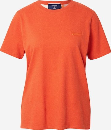 Superdry Shirt in Orange