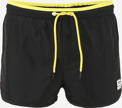 DIESEL Plavecké šortky - limone / černá, Produkt