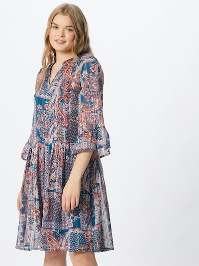 Cream Kleid 'Sheena' in blau / mischfarben, Modelansicht