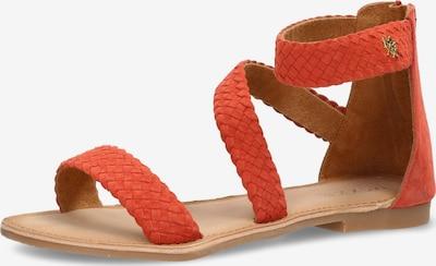 MEXX Sandale 'EDA' in orangerot, Produktansicht
