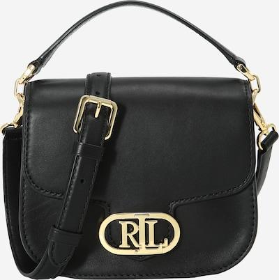 Lauren Ralph Lauren Чанта за през рамо тип преметка 'ADDIE' в злато / черно, Преглед на продукта