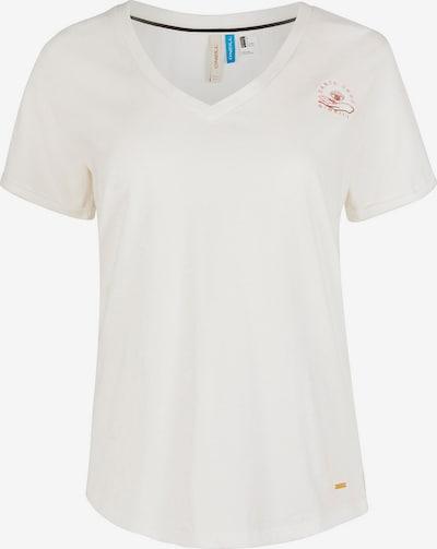 O'NEILL Shirt in bordeaux / weiß, Produktansicht