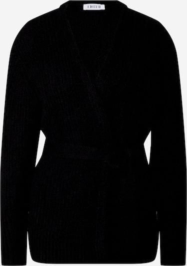 EDITED Cardigan 'Annika' en noir, Vue avec produit