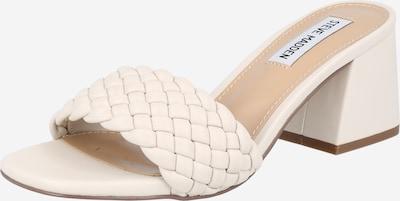 STEVE MADDEN Pantoletten in creme / weiß, Produktansicht