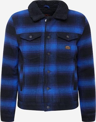 Superdry Between-season jacket 'Highwayman' in Blue / Black, Item view