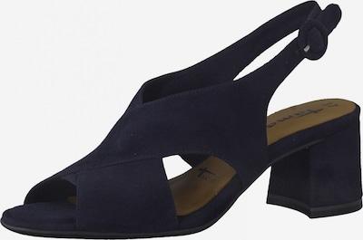 TAMARIS Páskové sandály - tmavě modrá, Produkt