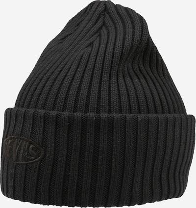 Megzta kepurė iš LEVI'S, spalva – juoda, Prekių apžvalga