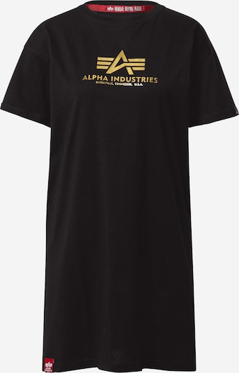 ALPHA INDUSTRIES Camiseta en oro / negro, Vista del producto