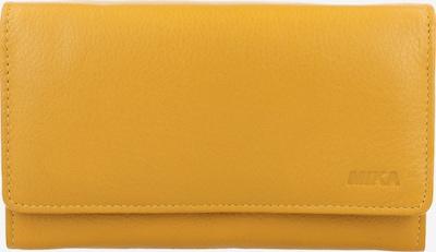 MIKA Geldbörse in gelb, Produktansicht
