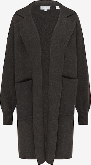 Usha Knitted coat in anthracite, Item view