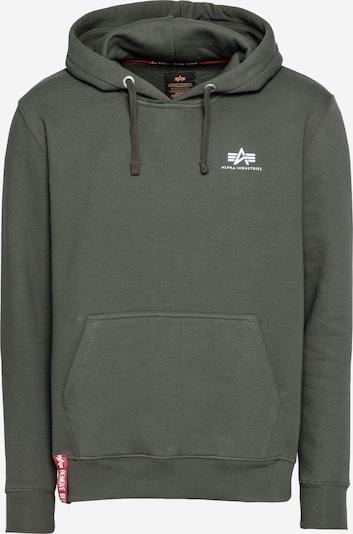 ALPHA INDUSTRIES Sweatshirt in oliv, Produktansicht