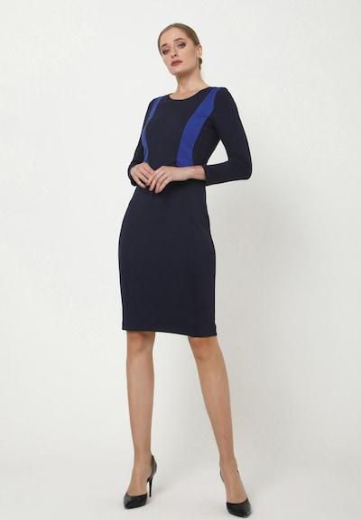 Madam-T Kleid 'RUTA' in blau, Modelansicht