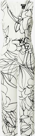 Tuta jumpsuit DKNY di colore nero / bianco, Visualizzazione prodotti