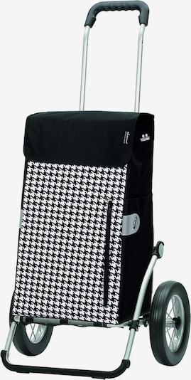 Andersen Shopper Trolley 'Tilly' in de kleur Zwart / Wit, Productweergave