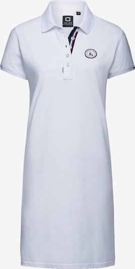 CODE-ZERO Polokleid 'St Barth' in weiß, Produktansicht