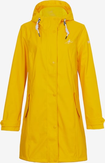 Dingy Rhythm Of The Rain Regenjacke 'Friesennerz' in gelb, Produktansicht
