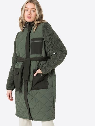 Envii Mantel 'ANTOINE' in grün / dunkelgrün: Frontalansicht