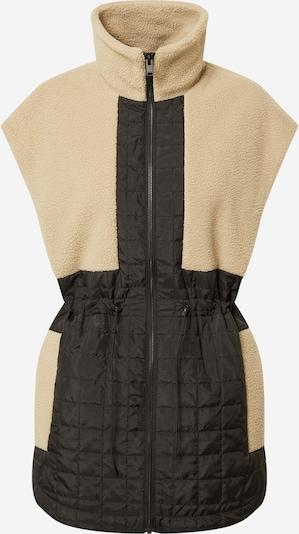 SELECTED FEMME Bodywarmer in de kleur Beige / Zwart, Productweergave