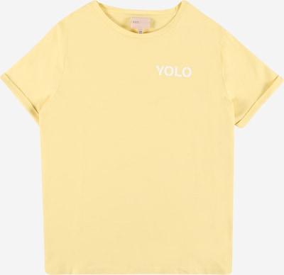 KIDS ONLY Shirt 'NAOMI' in de kleur Geel / Wit, Productweergave