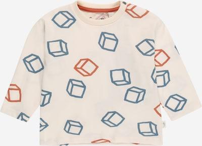 Sanetta Pure Shirt in de kleur Blauw / Roestrood / Natuurwit, Productweergave