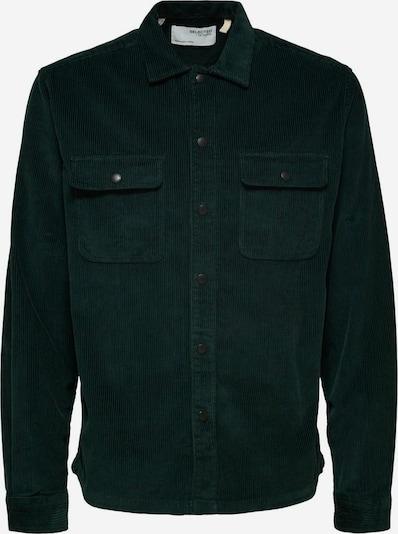 SELECTED HOMME Skjorta i mörkgrön, Produktvy