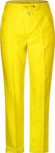 STREET ONE Hose in gelb, Produktansicht