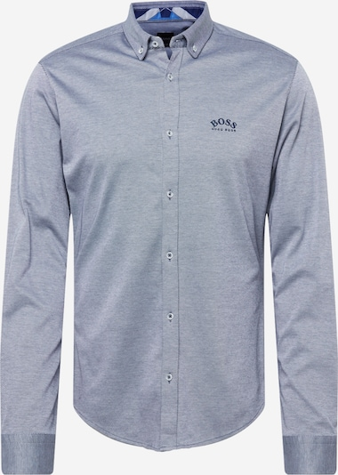 BOSS ATHLEISURE Button Up Shirt 'BIADO' in Navy / Dusty blue, Item view